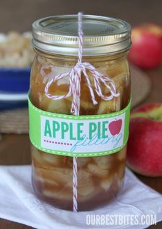 Apple Pie Filling {For Canning or Freezing}.