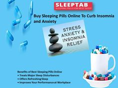 Insomnia could lead to several complications such as drowsiness, dizziness, hypertension, diabetes and problems of heart. Sleep deprived individuals can find assistance in best sleeping pills. A right dosage of them under the guidance of a physician can help you to enjoy quality slumber at night. One should always buy sleeping pills online from trusted pharmaceutical suppliers.