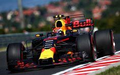 Herunterladen hintergrundbild 4k, max verstappen, 2017, raceway, red bull racing, rb13, formel 1, f1, formel eins