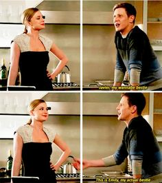 She just looks so pleased to hear him saw that... Love this scene!