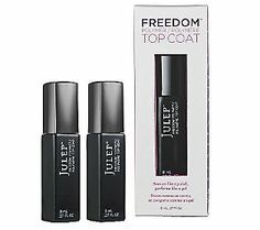 Julep Freedom Polymer Nail Top Coat Duo