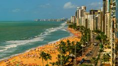 A sunny day - The most famous beach in Recife/Brazil