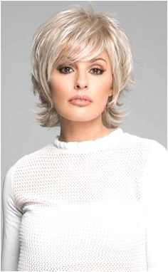 Short Hairstyles Over 50, Hairstyles With Bangs, Easy Hairstyles, Short Hair Over 50, Amazing Hairstyles, Layered Hairstyles, Elegant Hairstyles, Short Wavy, Short Blonde