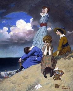 Norman Rockwell, Till the Boys Come Home