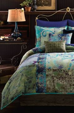 Free shipping and returns on PEM AMERICA Tracy Porter® For Poetic Wanderlust® 'Skye' Comforter Set at Nordstrom.com. <b>Limited Time Savings: Save 20% on selected items for bed, bath and home, now through January 19, 2015.</b><br><br>Vintage floral prints form an enchanting patchwork collage on a cozy comforter paired with matching shams.