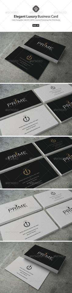 Elegant Luxury Business Card Template PSD | Buy and Download: http://graphicriver.net/item/elegant-luxury-business-card/8676724?WT.ac=category_thumb&WT.z_author=ComyDesigns&ref=ksioks