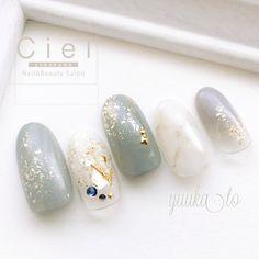 ネイルデザインを探すならネイル数No.1のネイルブック Paint Designs, Nail Art Designs, Nails To Go, Korean Nails, Fashion Corner, Japanese Nails, Nail Arts, Manicure And Pedicure, Wedding Nails