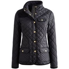 This stylish coat by Joules is made from premium fabric and features a fitted shape with quilting for extra insulation. Cord shoulder and elbow patches add dec…