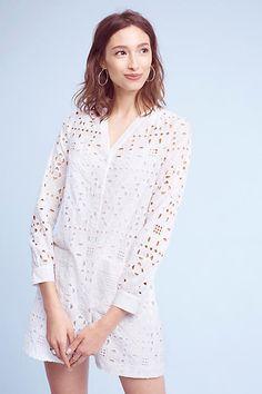 Maeve Geo Eyelet Shirtdress, affiliate link