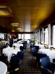 Art Deco restaurant Savoy, Helsinki by Alvar Aalto