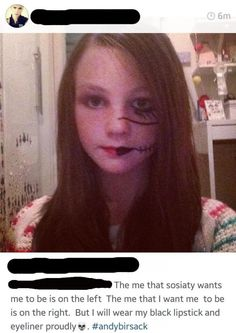 14 Edgelords Who Will Send You Into a Cringe Coma - Facepalm Gallery Dankest Memes, Funny Memes, Hilarious, Jokes, Emo Cringe, Look Man, Rawr Xd, A Silent Voice, College Humor