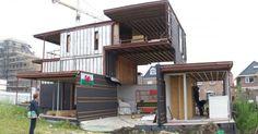 Villa, Welpeloo, built with 67% recycled materials     http://2012architecten.nl/2009/10/villa-welpeloo/