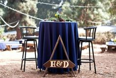 bridal table // rustic outdoor wedding @ Angelus Mountain Center, Home of Summerkids Camp  (Duc Duong Photography)