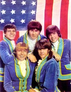 Another from the 60's...that was then...1965: Paul Revere and the Raiders