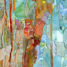 Mosaic composition 1 close-up, by painter and mosaic artist Pavel Martushev on Behance.