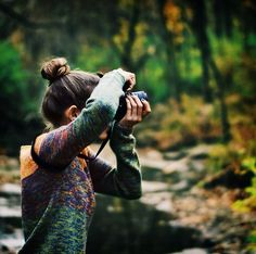 """She came out here every morning, eager to capture the world and keep it tucked away forever."""