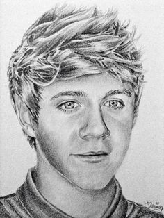good one direction drawing | niall horan niall horan drawing one direction sketch art