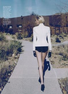Claire Courtin-Clarins for Marie Claire July 2012