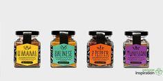 The Hidden Souk - Spices Packaging Design. Designed by: Courtney Kim, Australia.