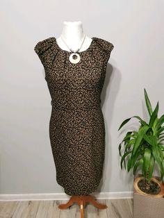 Sukienka w panterkę rozm. 40 Tu - Vinted High Neck Dress, Formal Dresses, Fashion, Turtleneck Dress, Dresses For Formal, Moda, Formal Gowns, Fashion Styles, Formal Dress