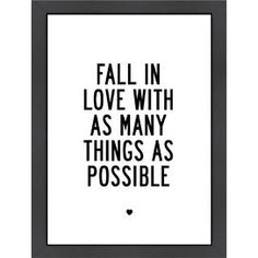 Fall in Love Art Print