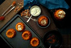 SAFFRON AND TURMERIC BABY BUNDTS FOR #BUNDTBAKERS