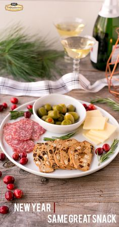 New year - same great snack! Liven up your New Year celebration by adding THINaddictives to the mix!