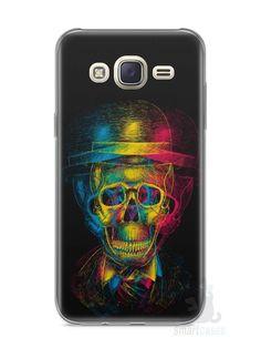 Capa Capinha Samsung J7 Caveira #7 - SmartCases - Acessórios para celulares e tablets :)
