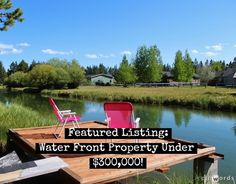 Featured Listing - Water Front Property under $300,000!