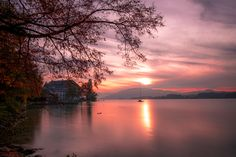 Calm Sunset - Follow my photographic journey on my blog: http://www.tommayphotography.com/