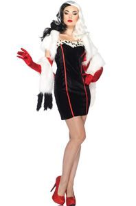 Cruella Adult Womens Costume
