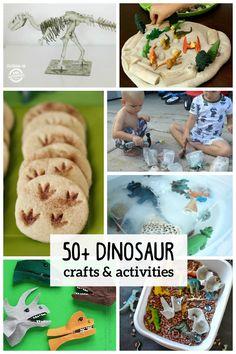 Dinosaur-crafts-&-activities