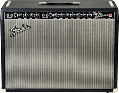 Fender Twin Reverb -  85 Watts of all tube power with great clean tone. One of the best purchases I ever made.