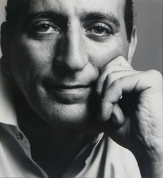 Available for sale from BlackBook Presents, Richard Avedon, Tony Bennett (ca. Vintage gelatin silver print, 15 × 14 in Richard Avedon Photos, Tony Bennett, Man About Town, Lauren Hutton, Bold And The Beautiful, Music People, Great Pictures, Fine Art Photography, Portrait Photographers