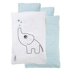 Done By Deer - Bedlinen Junior Elphee - Blue, UAE's biggest online organic baby store, Best prices, *Free Delivery within UAE. Baby Deer, Baby Boy, Done By Deer, Nordic Interior Design, Baby List, Baby Store, Bed Styling, Baby Online, Maternity Wear