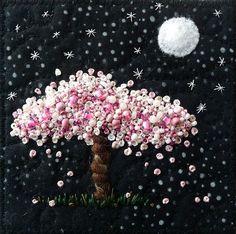 Moonlight Blossoms by Kirsten Chursinoff, via Flickr: