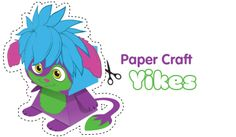 Yikes Paper Craft - Free Fun Party Popples Printables and Activities | SKGaleana