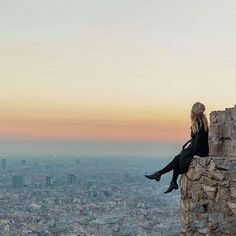 BARCELONA. @polkadotpassport: The view from Bunkers del Carmel give you an impressive sight of Barcelona. #Greatesttravels #Barcelona