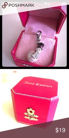 Limited Edition Juicy Couture Charm In perfect condition! Open to offers! Juicy Couture Jewelry