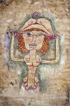 Paul Klee - Singer of the Comic Opera