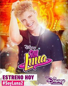 Soy Luna 2 - Poster Oficial de ''Nico''