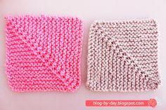 New Ideas For Crochet Shawl Granny Square English Knitting Patterns Free Dog, Knitting Stitches, Knitting Yarn, Baby Knitting, Crochet Patterns, Knitted Squares Pattern, Crochet Baby Cocoon, Knitted Baby Blankets, Crochet Shawl