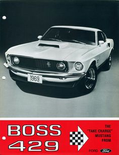 BOSS 429. Must. Rent. Mustang. For. Just. Married. Send. Off.