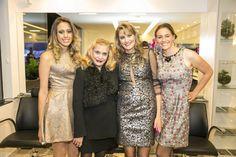 Daniela Capurro recebeu Lylian Vargas, com suas filhas Carolina e Paula.