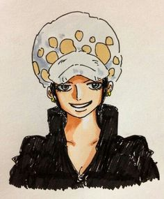 Trafalgar Law; He- I mean... She's (?) really cute like this! ^^""