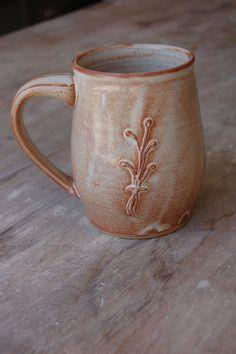 Artisan Coffee Mug Handmade 16 oz 450 ml by JenniferBurkePottery