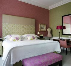 Mr & Mrs Smith - Deluxe room at Covent Garden Hotel Covent Garden, Feng Shui, English Decor, Small Luxury Hotels, Living Spaces, Sweet Home, Room Decor, Interior Design, Furniture