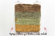 Esta pechera de bebe a palillos es un modelo que hice muchos años atrás para mi hija. Pero ¡no pasa de moda! ¡Encuentra sus patrón gratuito de tejido aquí! Knitting Videos, Baby Knitting, Knitted Hats, Baby Knits, Accessories, Hairstyles, Clothes, Ideas, Farmhouse Rugs
