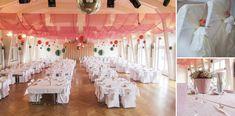 Eine Vietnamesisch-Schweizerische Hochzeit in Weiss, Koralle & Mint | FAB WEDDING DAY Chandelier, Mint, Ceiling Lights, Table Decorations, Coral, Inspiration, Chair, Home Decor, Wedding Anniversary