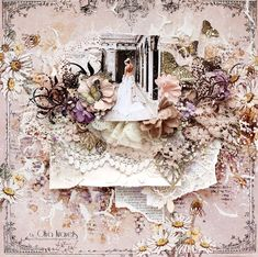 "Olya Kravets: Layout ""Dreams of the bride"" for 49 and Market"